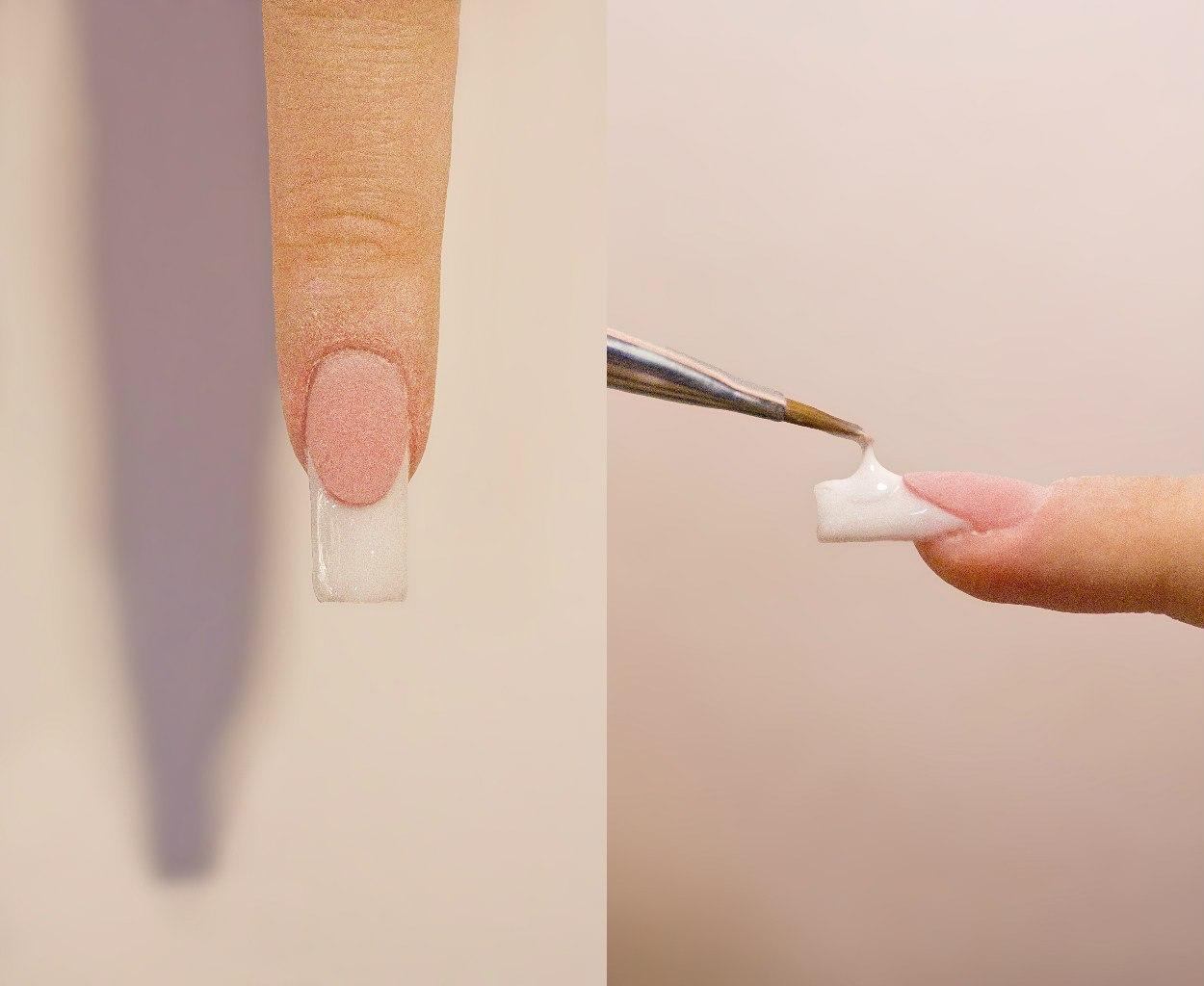 Как наращивать ногти пошагово