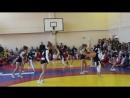 черлидеры на соревнованиях в чебаркуле