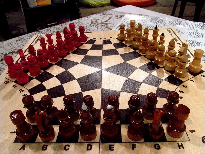Афиша Владивосток Турнир по шахматам на троих / Владивосток