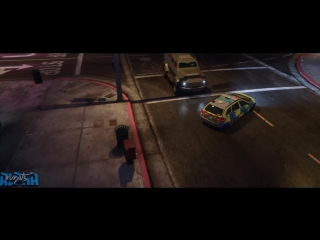 GTA 5- Fast and Furious 6 Flip Car Scene Remake (Amazing Ramp Car Mod)