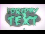 Fake Hand Drawn Drippy Text After Effects Tutorial