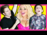 THE SINGING LIVE *CHALLENGE*! (with TREVOR MORAN & TRISHA PAYTAS)