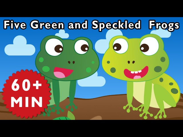 Five Green and Speckled Frogs and More Nursery Rhymes from Mother Goose Club