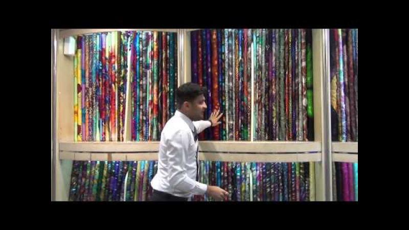 Магазин тканей в Дубае - шикарные ткани для шикарных платьев