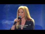 Lara Fabian Любовь Уставших Лебедей Live Sub.Spanish