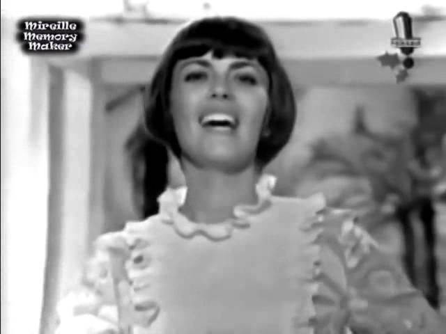 Мирей Матье Прости мне этот детский каприз Mireille Mathieu Pardonne moi ce caprice d'enfant