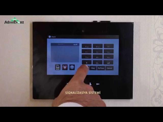 Ağıllı Evin Sensorlu Panel Üzərindən İdarə Olunması (ardı var)
