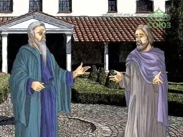 Мульткалендарь. 16 августа. Преподобные Исаакий, Далмат и Фавст