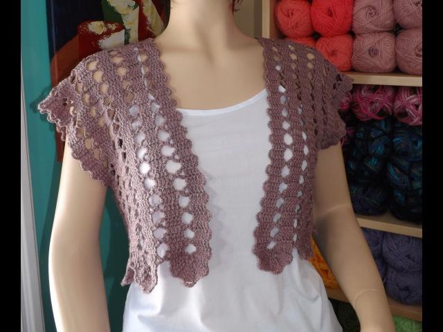 Crochet Cardigan De Verano Parte 1 de 2 - con Ruby Stedman