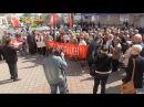 """Митинг приверженцев компартии в """"День трудящихся"""" в Одессе"""