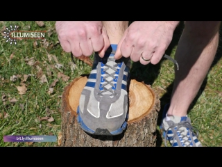 """A tip from illumiseen: how to prevent running shoe blisters with a """"heel lock"""" or """"lace lock"""""""