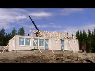 Как строят каркасные дома в Финляндии