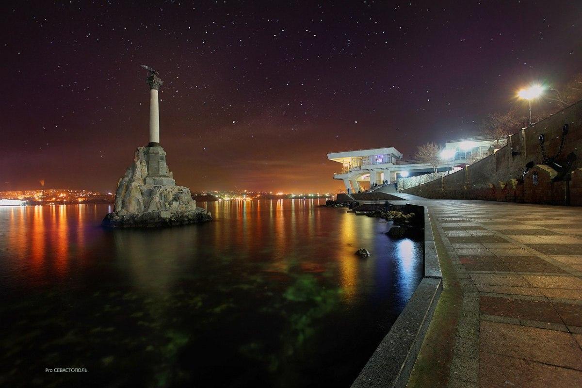 Полный штиль.Севастополь.<br>Фото: Денис Клименко.