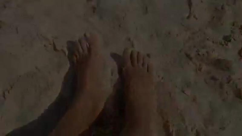 На пляже в Дубае. Октябрь 2015