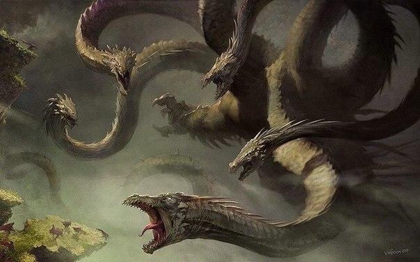 — Дракон! — прокричал Рыцарь в глубину пещеры. — Выходи, если не трус!