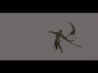 Necro-Orc (ZBrush)