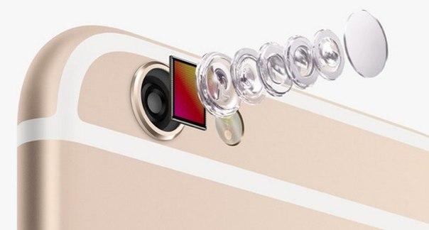 Проблемы с камерой в iphone6 plus