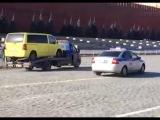 Гонки с полицией на Красной площади устроил воронежец, угнавший эвакуатор