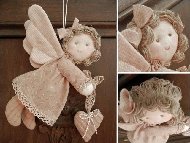 Пасхальные ангелочки своими руками. Вытворяшки