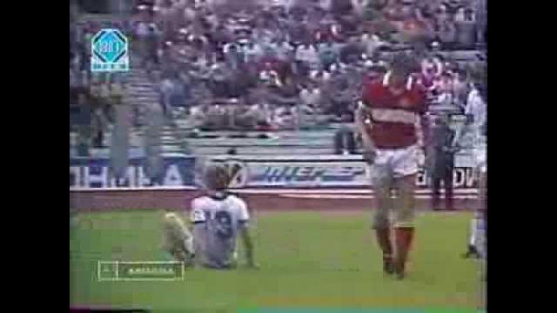 Чемпионат СССР 1987, 13-й тур, Спартак (Москва) - Зенит (Ленинград)