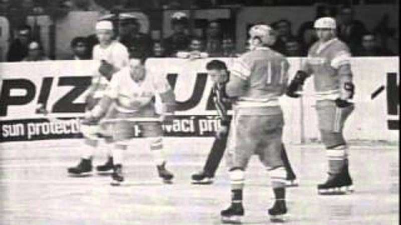 Hockey WC 1967. USSR- Canada.Чемпионат мира 1967 года. CCCР-КАНАДА.Хоккейный матч.