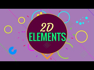 How to make 2D Elements for Motion Graphics in Blender