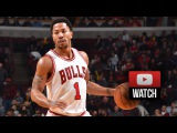Derrick Rose Full Highlights vs Spurs (2015.01.22) - 22 Pts, 5 Ast, Sick Plays!