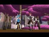 MMD x FNAF Scream - Toy anamatronics (Toy Bonnie, Toy Freddy, Toy chica, and Mangle)