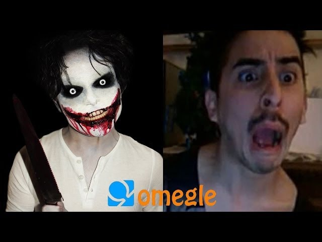 Jeff the Killer goes on Omegle