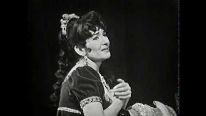 Maria Callas - Vissi d'arte (Puccini, Tosca)
