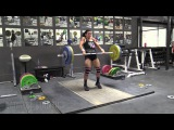 Jessica Lucero (58kg) Clean &amp Jerk Complex