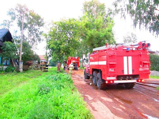 Под Таганрогом в Беглице горел одноэтажный жилой дом