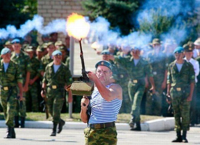 К юбилею ВДВ на родине Чехова подготовили праздничную программу