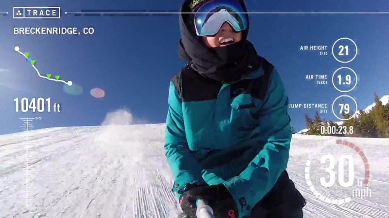 Traceup треккер для лыж и сноуборда