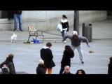 Криштиану Роналду устроил пранк в центре Мадрида, а люди его даже не узнали ...(