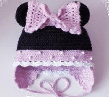 Красивая детская шапочка. (2 фото) - картинка