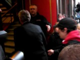Billy Bob Thornton into Massey Hall Toronto calls CBC's Jian Ghomeshi -mashed potatoes without gravy