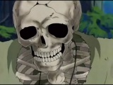 Anime Skeleton Gets Naked with