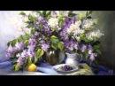 Pleasant Moments Anca Bulgaru Painter Liliac flowers