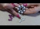 Diy tutorial ciondolo con perle e perline 1 come fare gioielli fai da te beadwork
