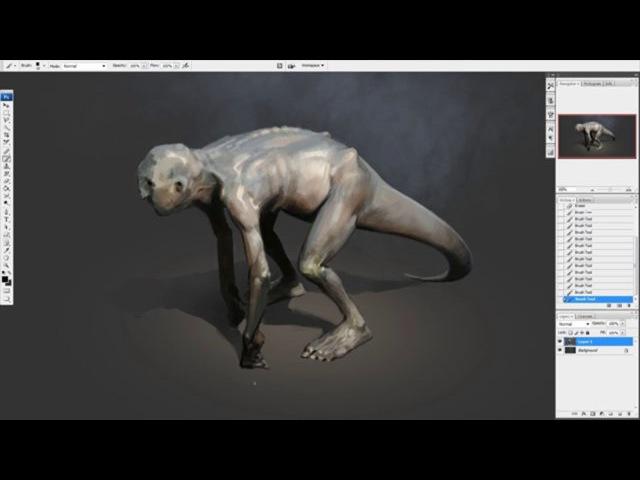 Peleng. 70 min concept sketch