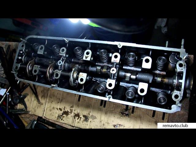 Установка распредвала, рокеров и коромыслы - Двигатель М30 BMW
