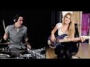 MAGIC! - Rude - Cover (Ft. Anna Sentina) Drum Cover & Bass Cover