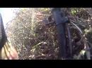 спецназ ГРУ ДНР под обстрелом спасают раненного бойца