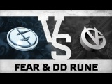 Fear & DD rune! vs VG @ ESL One Frankfurt 2015