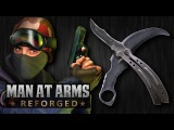 Counter-Strike Knife Challenge - MAN AT ARMS REFORGED