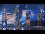 Union J sing Leona LewisJames Morrison medley - Live Week 2 - The X Factor UK 2012