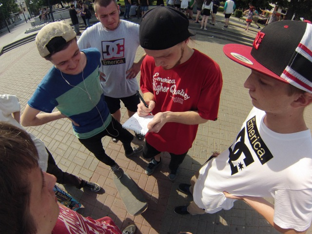 Go Skateboarding day in Voronezh 2015