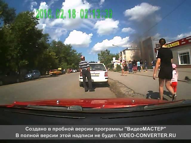 Костанай Пожар КЖБИ