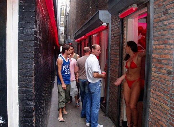 секс туризм в амстердаме фото